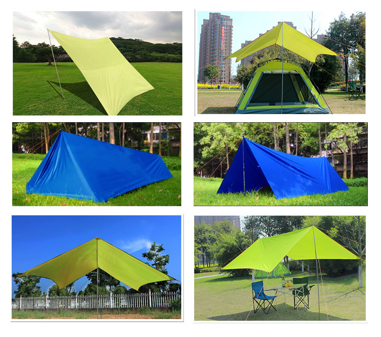Simple Waterproof Sunscreen UV Camping Outdoor Tents ...