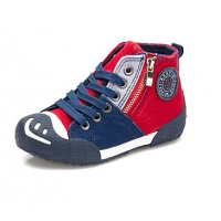 Children's Shoes Comfort Flat Heel Canvas Fashion Sneakers with Zipper Shoes More Colors available