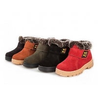 Children's Shoes Snow Flat Heel Suede Ankle Boots More Colors available