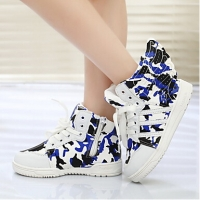 Boys' Shoes Round Toe Flat Heel Fashion Sneakers with Magic Tape Shoes (More Colors)
