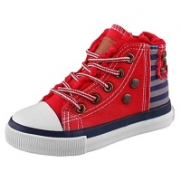 Children's Shoes Comfort Flat Heel Canvas Fashion Sneakers with Lace-up and Rivet Shoes(More Colors)