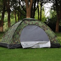 Double Camouflage Tent 2 People Leisure Tent Outdoor Camping Tent Camping Tent