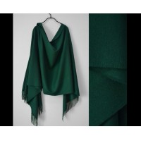 Europe and the United States big - name men and women universal masculine fringed scarf office office shawl classic dark green