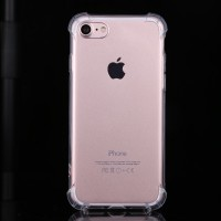 Transparent iphone7 anti-wrestling mobile phone sets TPU four corners explosion-proof mobile phone protection shell