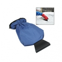 Car Snow / Ice Shovel with Protective Sleeve for Cold Winter