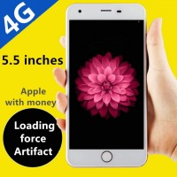 Genuine Mobile Unicom dual eight-core 4G smart phones 5.5 inch large-screen ultra-thin Android touchscreen non-telecom