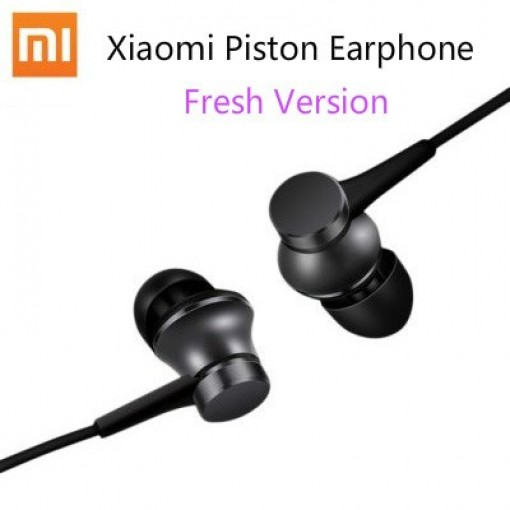 Original Xiaomi Piston Earphone Fresh Edition With Wired Control & Mic for iPhone Android Phones