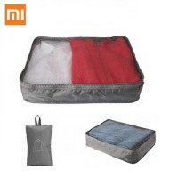 Xiaomi 90 Points Portable Storage Bag Folding Waterproof Pouch Travel Compression Clothes Bag - Gray