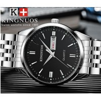 High grade quartz watch, double calendar waterproof fashion lovers Watch