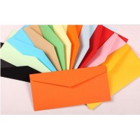 5, triangular sealing color envelope Cross section 12 color western-style envelopes Pure color envelope