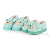 Winter cotton-padded package with slippers female paragraph cartoon child shoes at home plus size male platform lovers