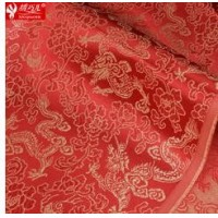 Dragon series woven damask costume hanfu kimono cos tang suit cheongsam silk damask clothes fabric