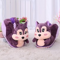 Winter Animal Dinosaur claws male and female cartoon Home Furnishing home all inclusive with cotton slippers lovers shoes