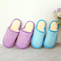 Autumn and winter cotton-padded slippers home slippers thermal slippers at home lovers men and women slippers