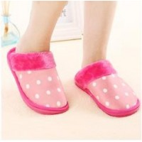 Cotton-padded winter lovers slippers home slippers women's handbag platform slip-resistant at home month of shoes thickening