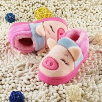 2014 new baby shoes winter children's bag with cotton slippers for men and women children piggy warm non slip