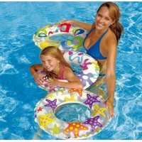 Intex-59230 child floating ring swim ring armpits ring diameter 51cm 3 - 6