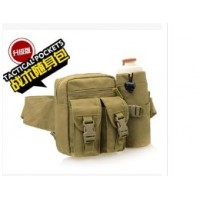 Tactical pockets( Unisex Solid Sport Canvas Trunk Bags  New Outdoor Pockets Tactical Military Fans Sports Bag And )