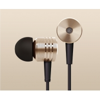 New Version Golden Color XIAOMI Piston Earphone Headphone with Remote Mic For XIAOMI MI2 MI2S MI2A Mi1S M1 Phones Retail Package