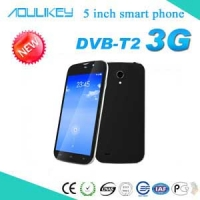 DVB-T2 smart phone with digital TV and dual sim
