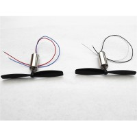 Four Axis Airplane / Hollow Cup Motor 820 Helicopter / Small Glider / Forward & Reverse Oar (1 pair)