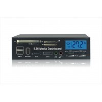 5.25 inch CD-ROM multi-function front panel
