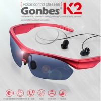 New Arrive Men/Women Fashion Multi-function Bluetooth Sunglasses K2 Smart Bluetooth Glasses Voice Or Sensitive Touch Control