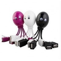 Computer accessories creative cute octopus legs dragged four USB HUB hub splitter multifunction Extender