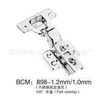 Manufacturers selling 1.5 thick stainless steel alloy damping hinge hinge