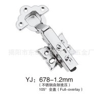 Stainless steel butterfly hydraulic damping hinge hinge