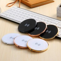 New Arrival Flat Type Wireless Charge Pad+ Reciver For Iphone High Quality