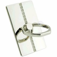 New Arrival Full Metal Sing Line Diamond Ring Stand For Mobile Phone High Quality
