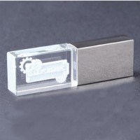 New Arrival Crystal Blink Type USB Flash Drive 4/8/16/32/64GB Optional for PC High Quality