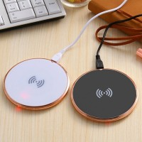 New Arrival  FLAT Type Wireless Charge Pad+ Universal Negative Reciver For Samsung And Other Android Mobile Phones High Quality