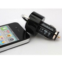 New Arrival 2 USB SLOT CAR Charger For All Kinds of Mobile Phone High Quality