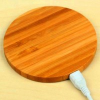 New Arrival Bamboo Type WIFI Charge Pad For All Kinds of Mobile Phones High Quality