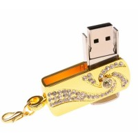 New Arrival Golden Wirlwind Type USB Flash Drive 4/8/16/32/64GB Optional for PC High Quality