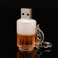New Arrival Beer Cup Type USB Flash Drive 4/8/16/32GB Optional for PC High Quality