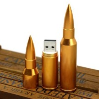 New Arrival Bullet Type USB Flash Drive 4/8/16/32GB Optional for PC High Quality