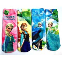 Frozen Socks Anna & Elsa Princes Size 18CM (5-15 years) - Brand New