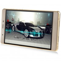 Unlocked Smartphone with Dual Core, Dual SIM GSM and Touchscreen (Gold)