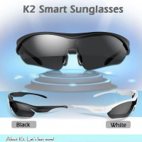 2015 New Arrive Wireless sun glasses bluetooth Polarized Eyewear Headset For Android / IOS smart glasses
