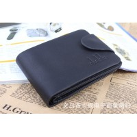 Hot Selling vintage Men wallets genuine leather purse short casual male card holder carteira brand wallet