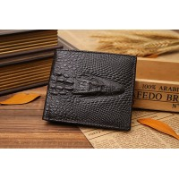 Men Wallet Genuine Leather Vintage Purses High Quality Money Bag Credit Card holders New Dollar Bill Wallet wholesale price