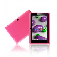 7 inch Allwinner A33 Quad core Q88 Tablet Android 4.4 512MB 4GB Camera WIFI Free shipping the best gift for kids