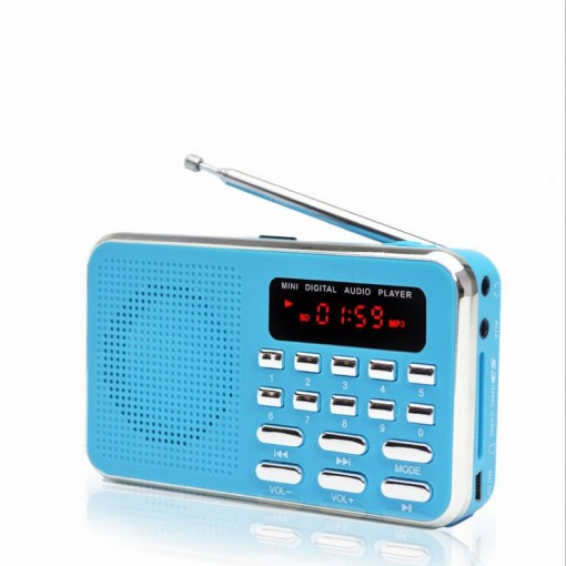 Classic FM Radio receiver MP3 Music Player Speaker Supported USB Disk/TF Card Playing Christmas Gift to Elders Kids Wholesale