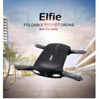 JJRC H37 Elfie Alitude Hold Wifi FPV 0.3MP Camera Foldable Pocket Drone RC Quadcopter