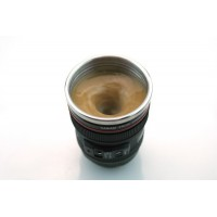 Electric Self Stirring Mixing Coffee Tea Cup Lens Camera Cup Lazy Automatic Stirring Mug Button Pressing