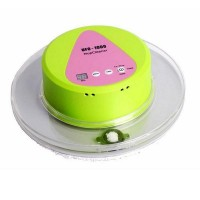 Bionic Ultra-quiet Mop Robot Intelligent Household Dry and Wet Wipe Machine with 247ml Big Water Tank Green Color UFO-1000