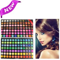 168 Colors Professional Dazzling Matte&Shimmer MANLY Eyeshadow Makeup Cosmetic Palette